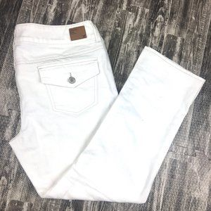 American Eagle Jeans Artist White Stretch Denim